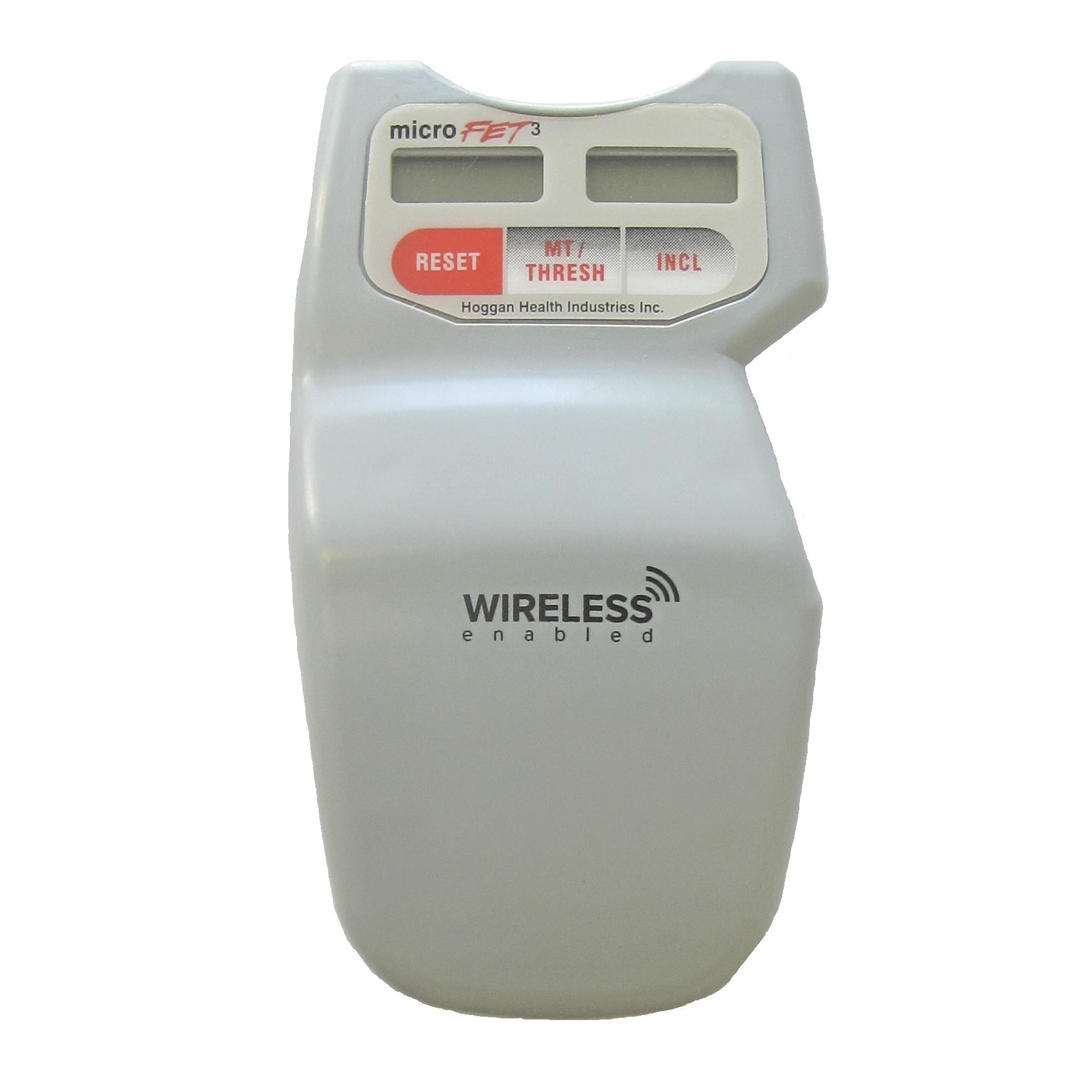 microfet3 digital dynamometer and inclinometer